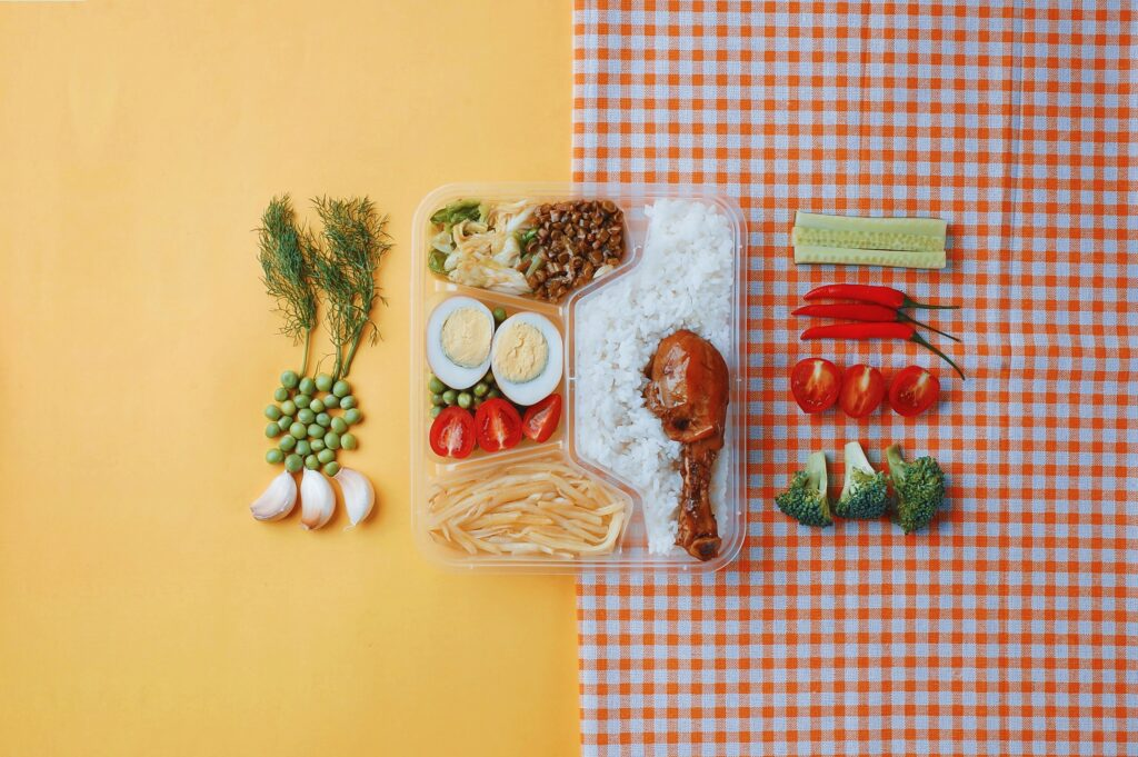 assorted food and ingredients